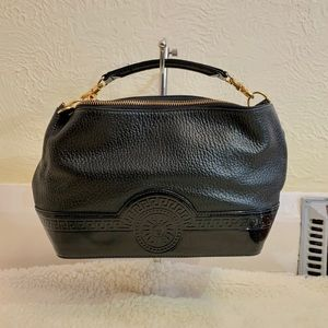 Authentic Versace handbag in black